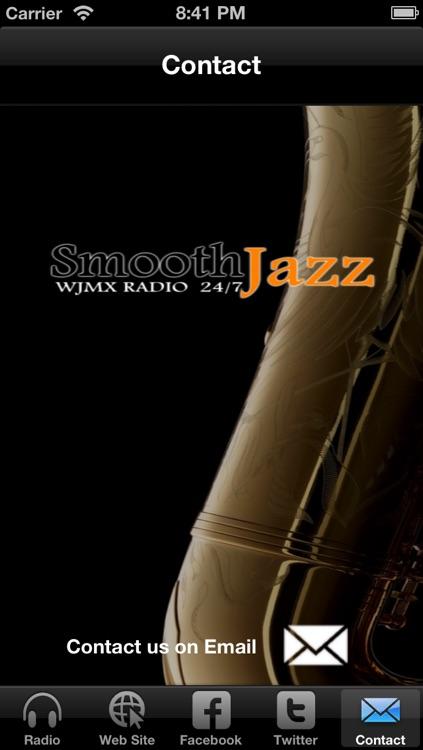 WJMX Smooth Jazz Radio screenshot-3