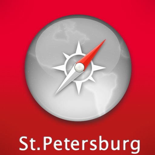 St. Petersburg Travel Map