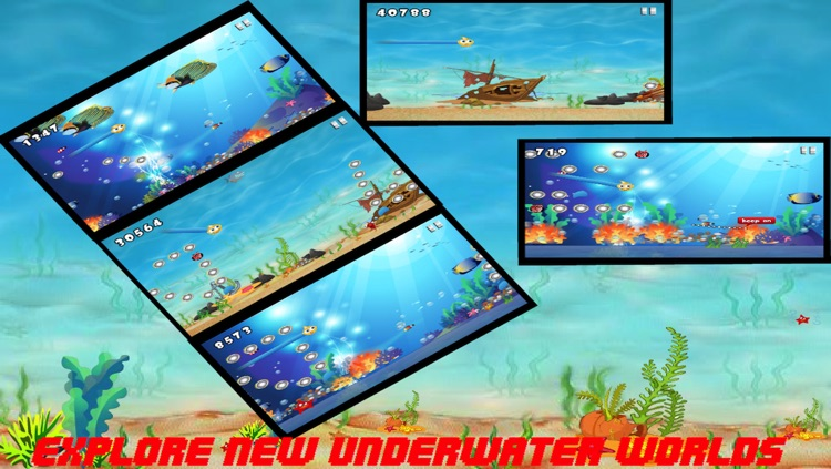 Underwater Bouncy Fish - Excellent Swimmer has a Dream FREE HD screenshot-3