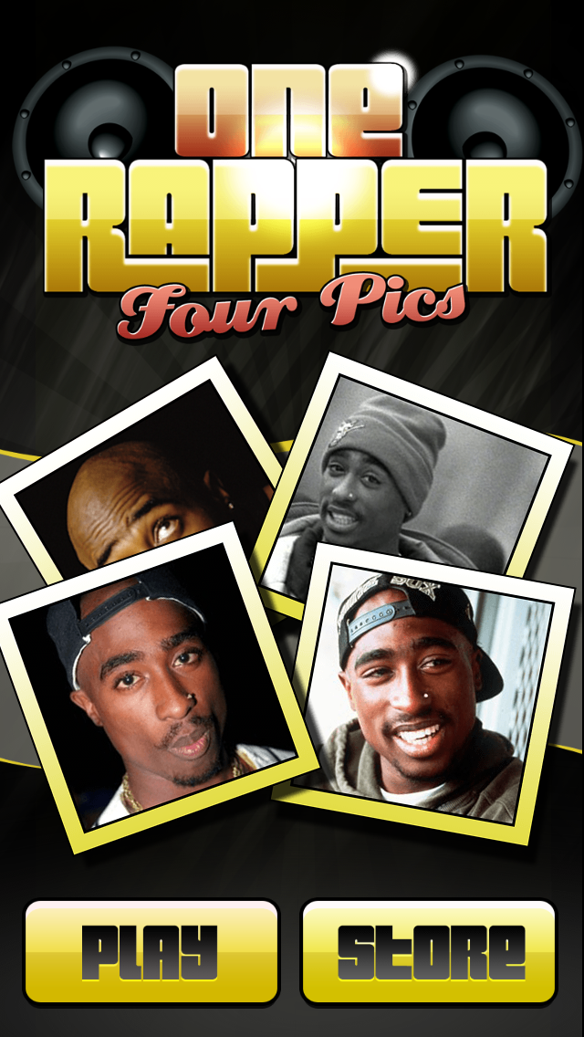 1 Rapper 4 Pics - Hip Hop Trivia Games screenshot one