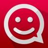 ChatMate - Aufkleber für Whatsapp, iMessage, Kik Messenger, Phone Line