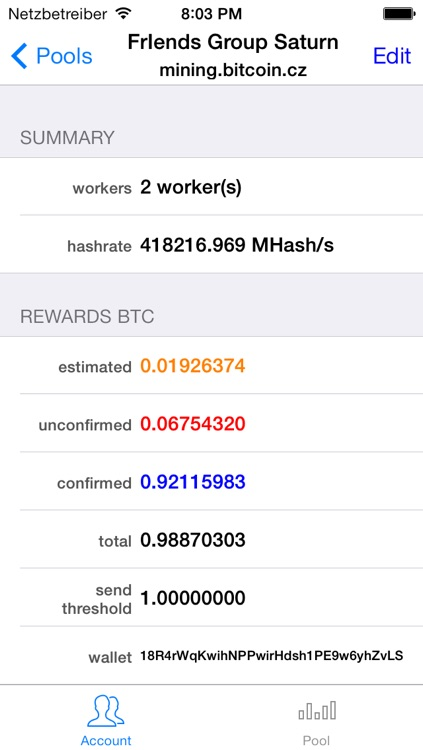 Coin Mining Monitor