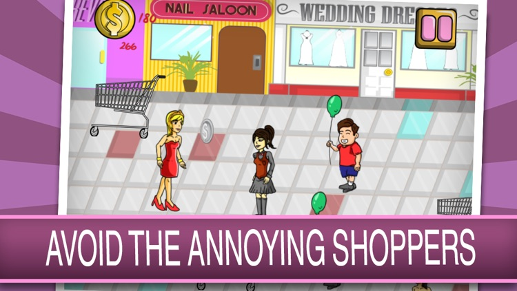 Hasty Fashion Campus Shopping Girl - Fun Celebrity Star in Modernism Boutique Rush