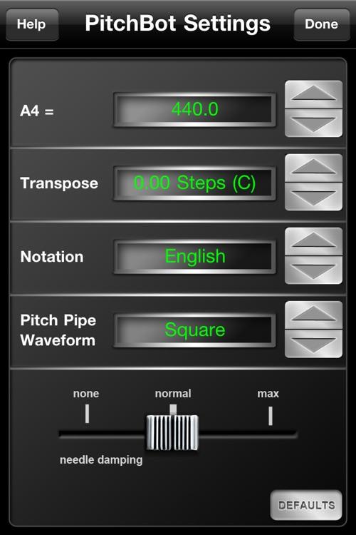 PitchBot - Smart Chromatic Tuner