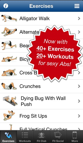 Ab Workouts Pro Screenshot 1