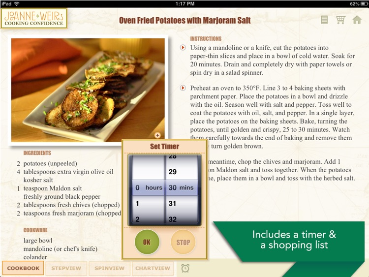 Joanne Weir's Cooking Confidence: Appetizers screenshot-4