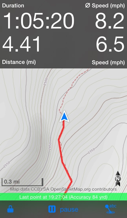 Trails - GPS tracker