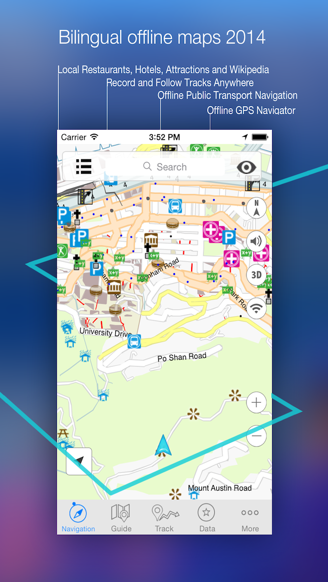 Top 10 Apps like Chile Offline Map in 2019 for iPhone & iPad
