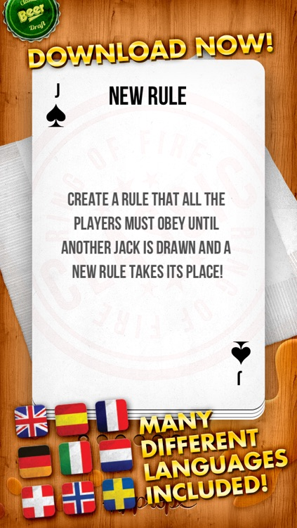 KINGS - the drinking game ( Ring of Fire / King's Cup ) screenshot-4