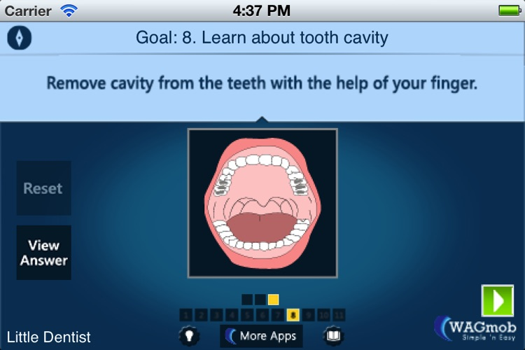 Dentistry for Kids by WAGmob screenshot-3