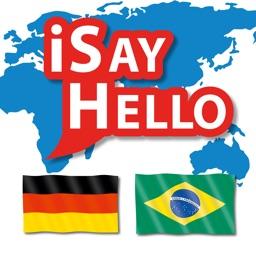 iSayHello German - Portuguese (Brazil)