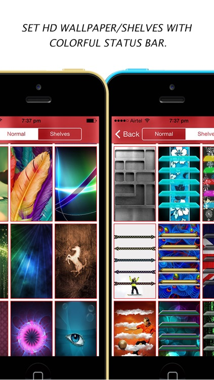 Color Dock Customizer - Colored Top and Bottom Bar Overlays for your Wallpaper screenshot-2