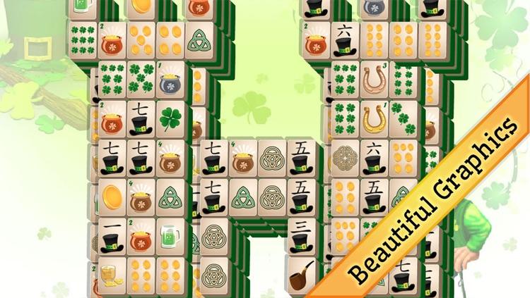 St Patrick's Day Mahjong