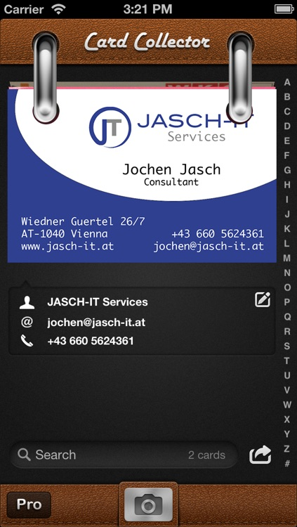 Card collector business card organizer by jasch it gmbh card collector business card organizer colourmoves