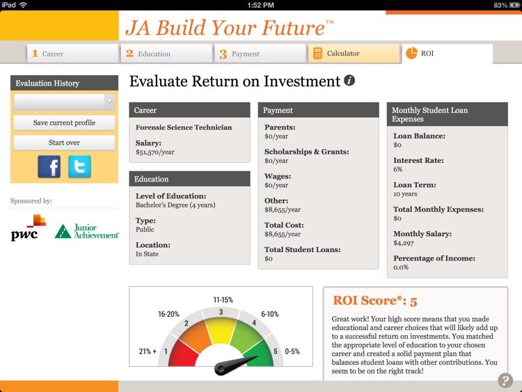 JA Build Your Future™ for iPad screenshot-4
