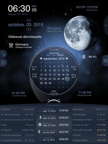 Screenshot #5 pour Lune de Luxe HD Pro - Phase de Lune Calendrier