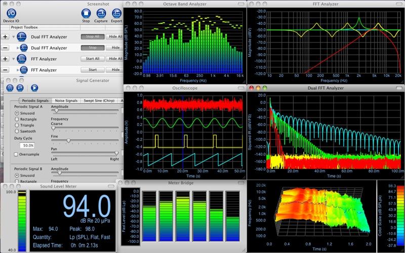 Electroacoustics Toolbox Screenshots