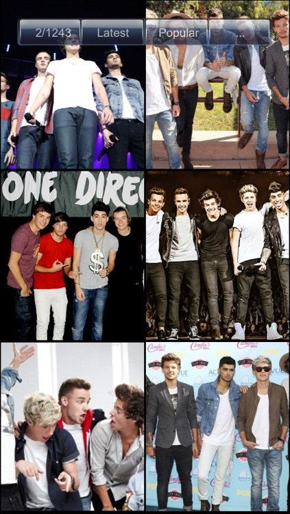 Wallpapers for One Direction