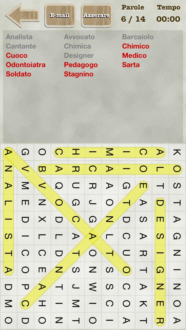 Griglia di Parole (Italian Word Search) Screenshot