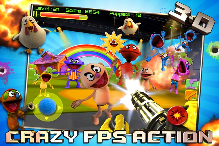Puppet War:FPS screenshot-0