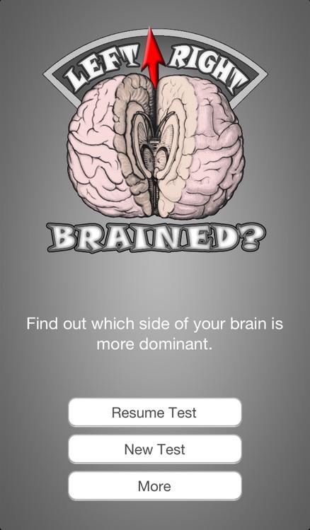 Brain Test ~ I'm Left or Right brained? ~ A brain side hemisphere dominance quiz screenshot-3