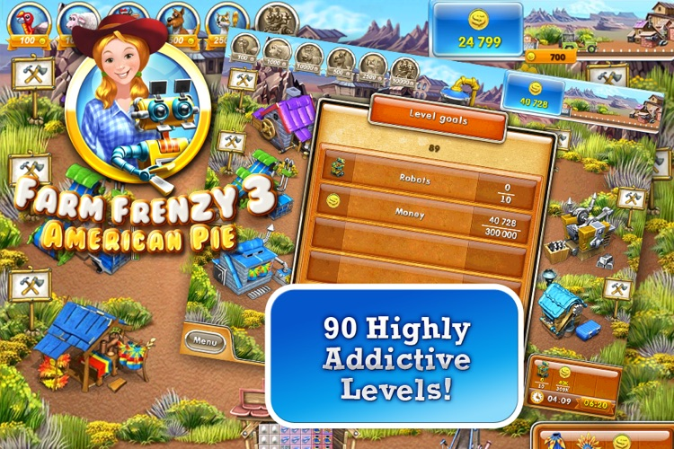 Farm Frenzy 3 – American Pie (Free)