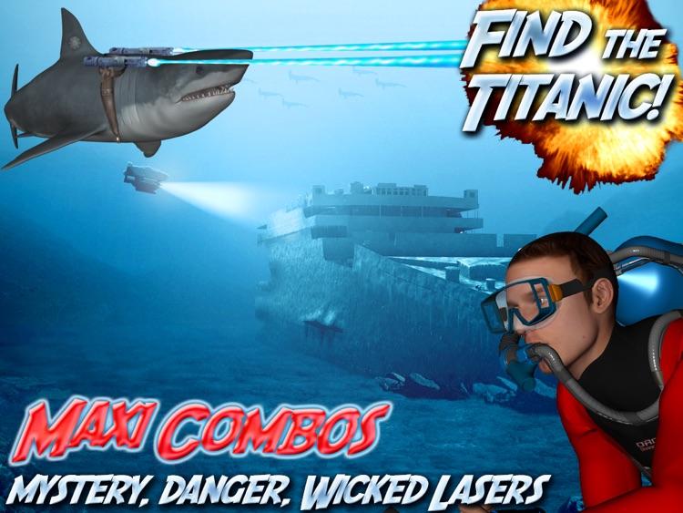 Atlantis Oceans HD Free Scuba Diving Shark Dolphin Fish Whale screenshot-3