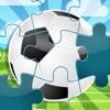 123 サッカーのジグソーパズル - 子供、幼児と親のためのジグソーパズルのゲーム! 学ぶ ブラジルの2014年ワールドカップのために