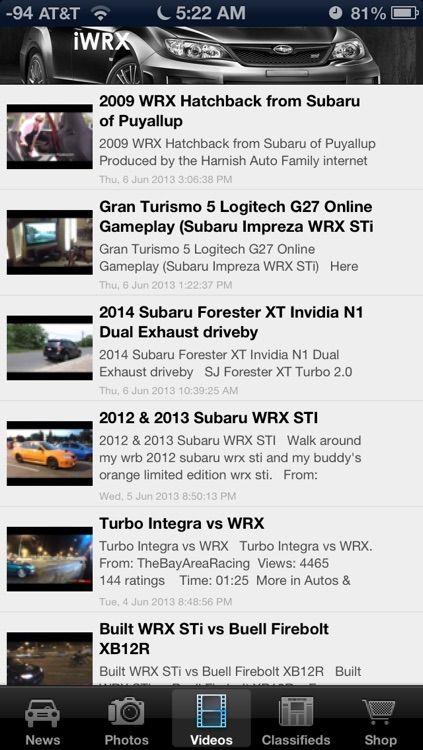 iWRX - News and Media for Subaru WRX STi Enthusiast!