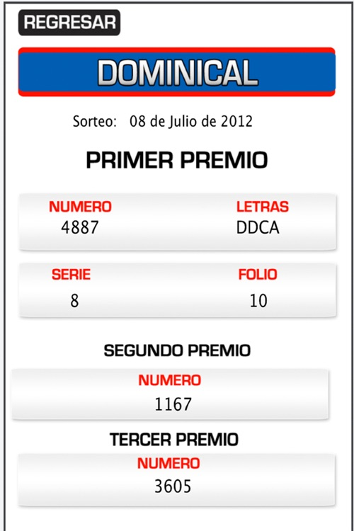 Loteria Panama - Panameña