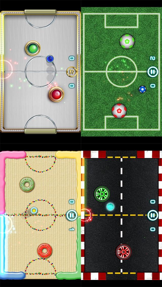 Glow Hockey 2Screenshot von 4