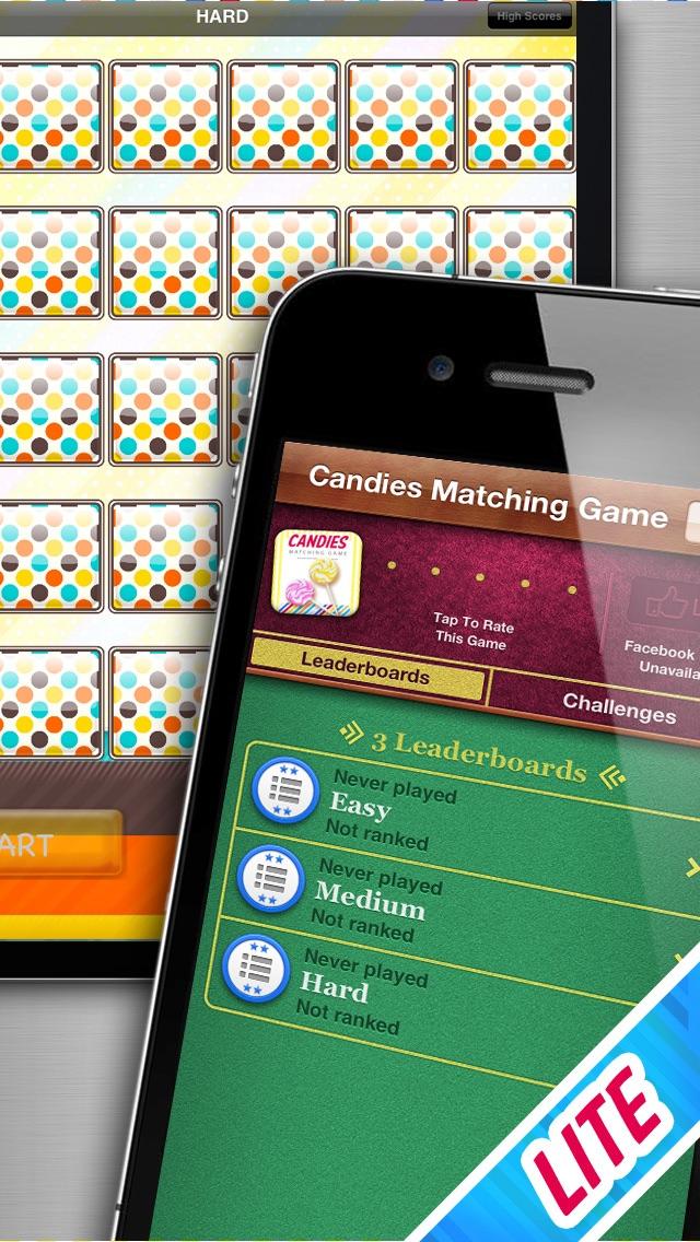 Candies Matching Game LITE screenshot three