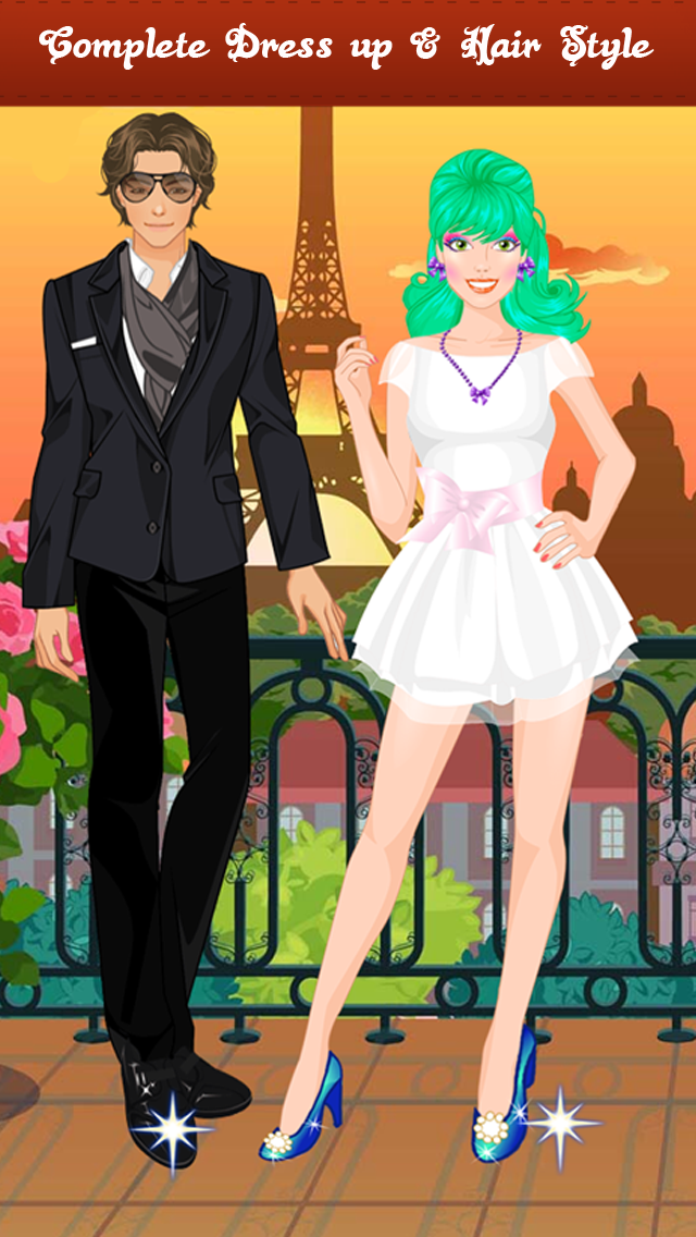 First Date Makeover, Spa , Dress up , Free games for Girlsのおすすめ画像3