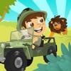 ロードレースオフジャングルサファリ の - 楽しいアドベンチャーレースゲーム Jungle Safari 4x4 Off Road Racing