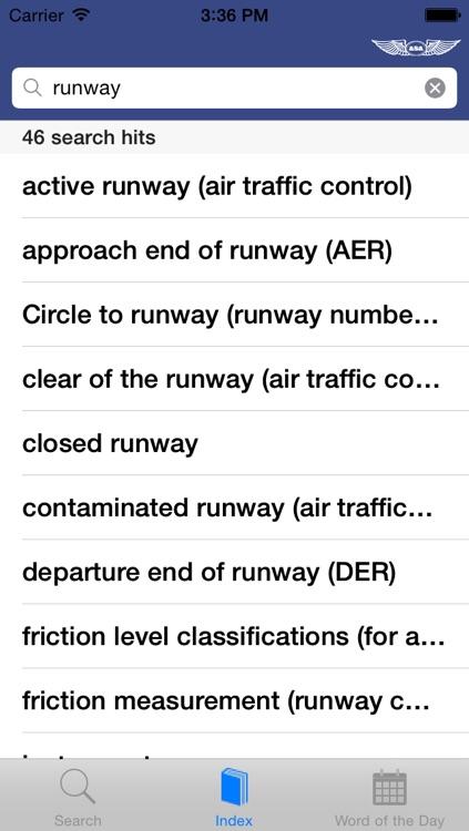 Aviation Dictionary screenshot-4