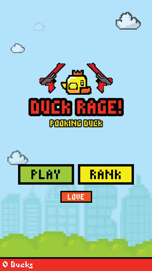 Duck Rage - PooKing Duck - Flappy Bird Hunter