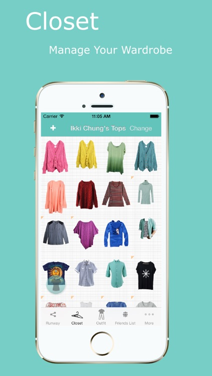 BonRack - Your virtual closet.