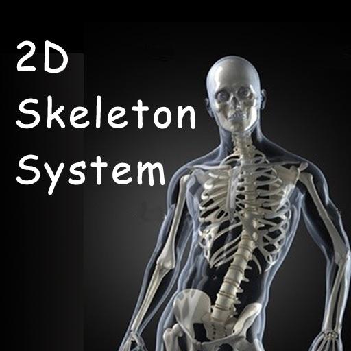 2D/3D Skeletal System