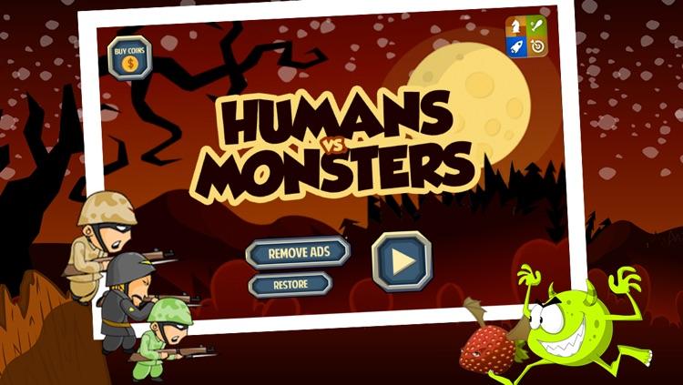 Humans vs Monsters