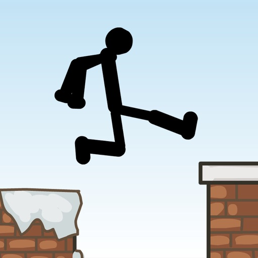 Roof Top Challenge : Crazy Stickman Run & Jump