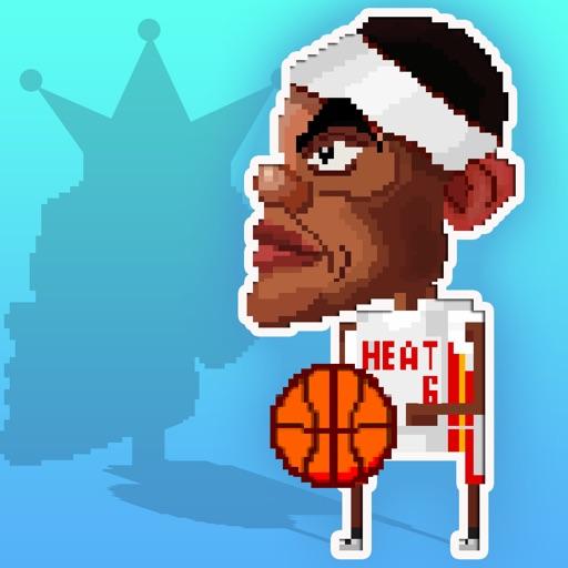 Dribbling King James in: Floppy Crossover Basket-Ball Champion Win
