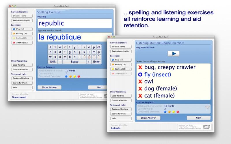 French FlashCards screenshot 4