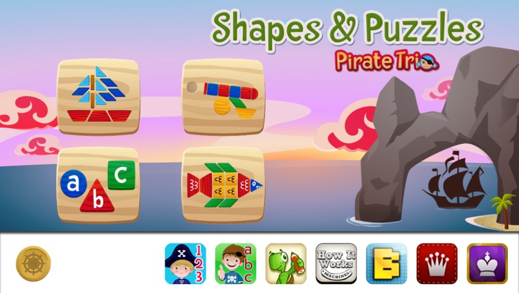 Shapes & Puzzles by Pirate Trio