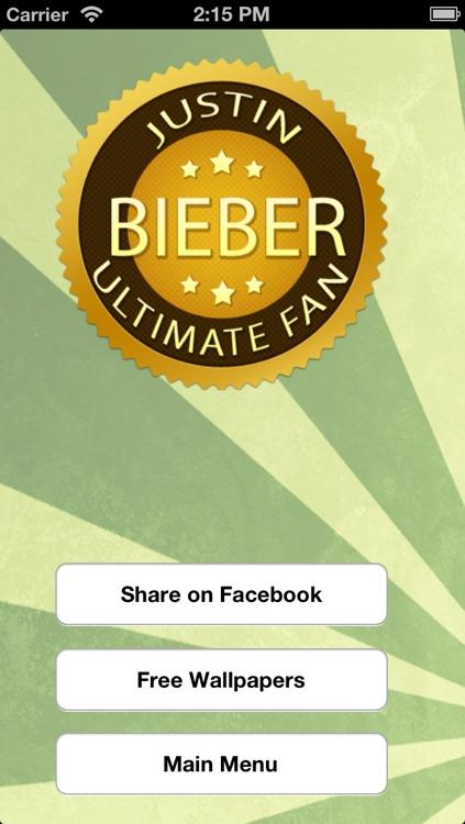 Quiz Time- Justin Bieber Edition screenshot-3