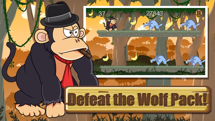 Gorilla Game of War - Attack of The Clans screenshot-3