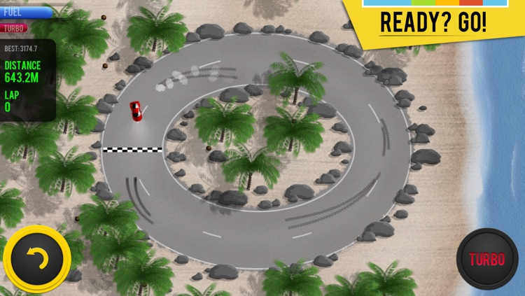 Micro Racing - arcade cars challenge screenshot-0