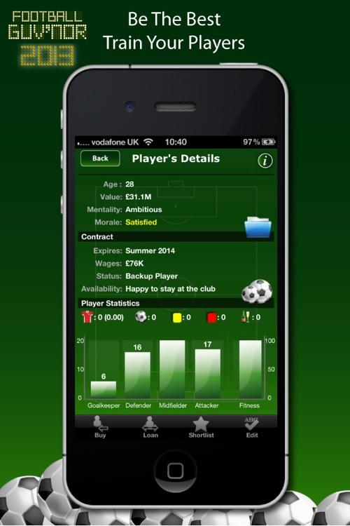 Football Guv'nor screenshot-3