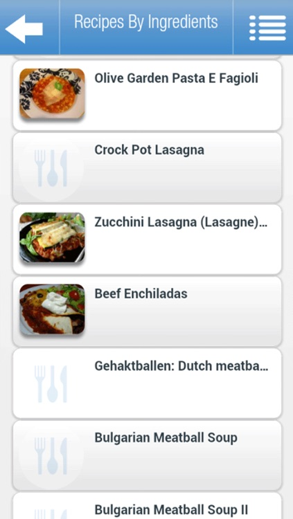 Recipes by Ingredients screenshot-4