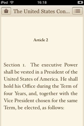 The Constitution of the United States of America screenshot-1