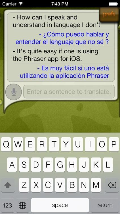 Phraser - phrase translator